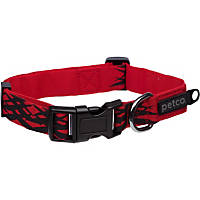 Petco Adjustable Sport Dog Collar in Red & Black