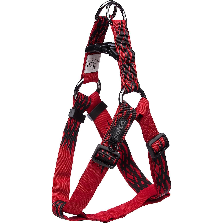 Petco Easy Step-In Sport Dog Harness in Red & Black