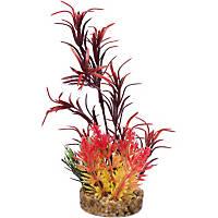 Petco Red Seagrass Plastic Aquarium Plant