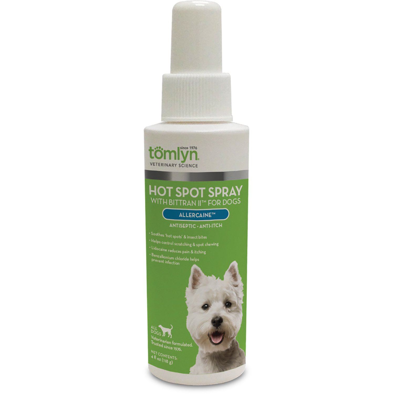 Tomlyn Allercaine with Bittran II Antiseptic Anti-Itch Spray