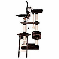 Trixie Pizarra Cat Tree in Mocha Brown