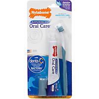 Nylabone Advanced Oral Care Complete Senior Dog Dental Kit