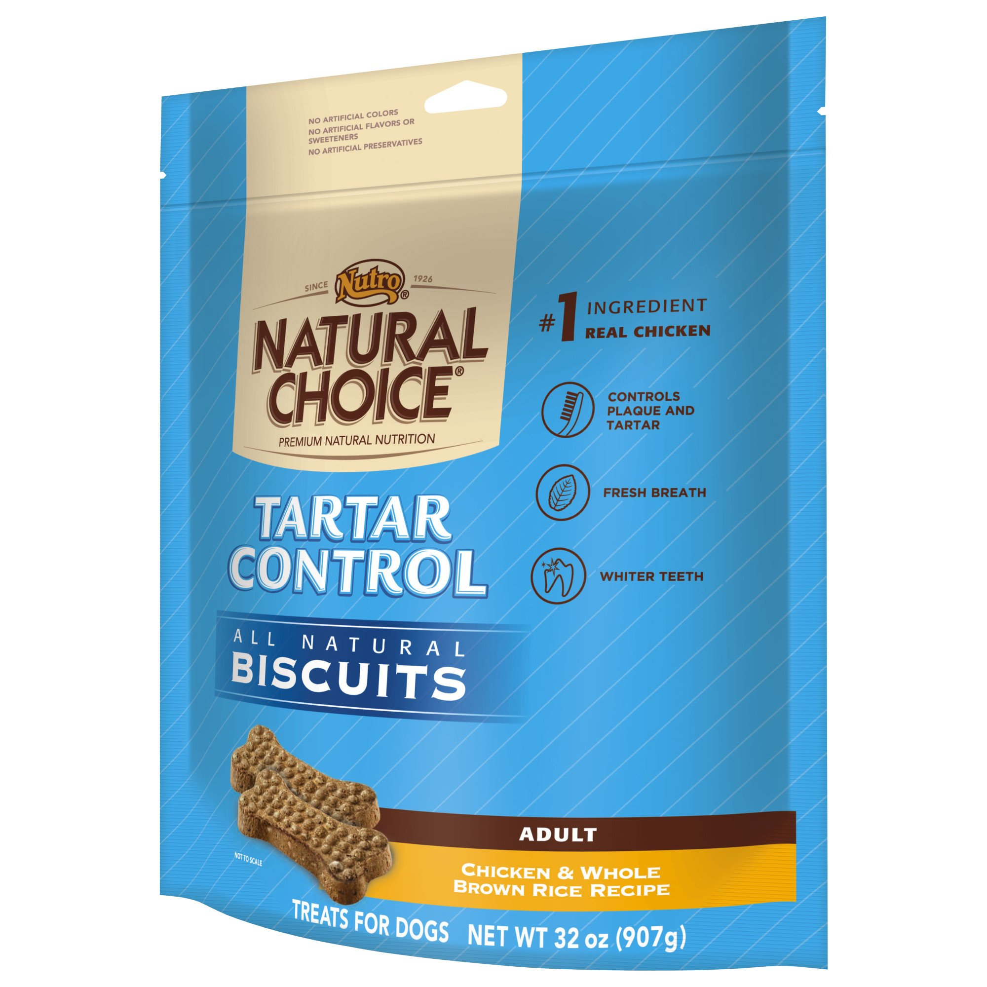 Nutro Natural Choice Tartar Control All Natural Dog Biscuits