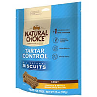 Nutro Natural Choice Tartar Control Chicken & Brown Rice All Natural Dog Biscuits