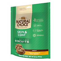 Nutro Natural Choice Skin & Coat All Natural Dog Biscuits