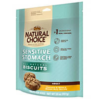 Nutro Natural Choice Sensitive Stomach Chicken & Brown Rice All Natural Dog Biscuits