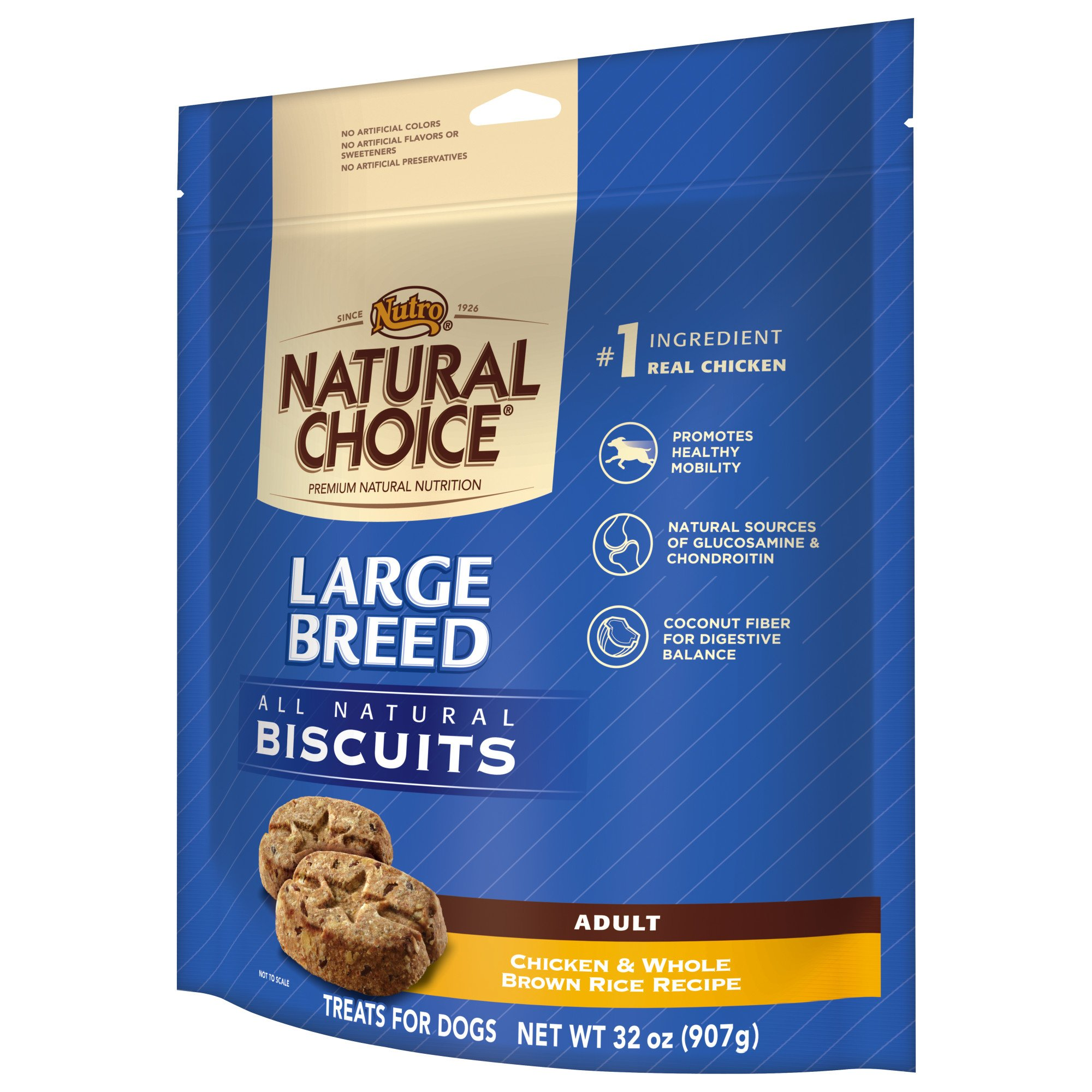 Nutro All Natural Large Breed Dog Biscuits