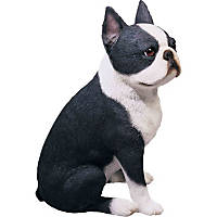 Sandicast Boston Terrier Original Figurine