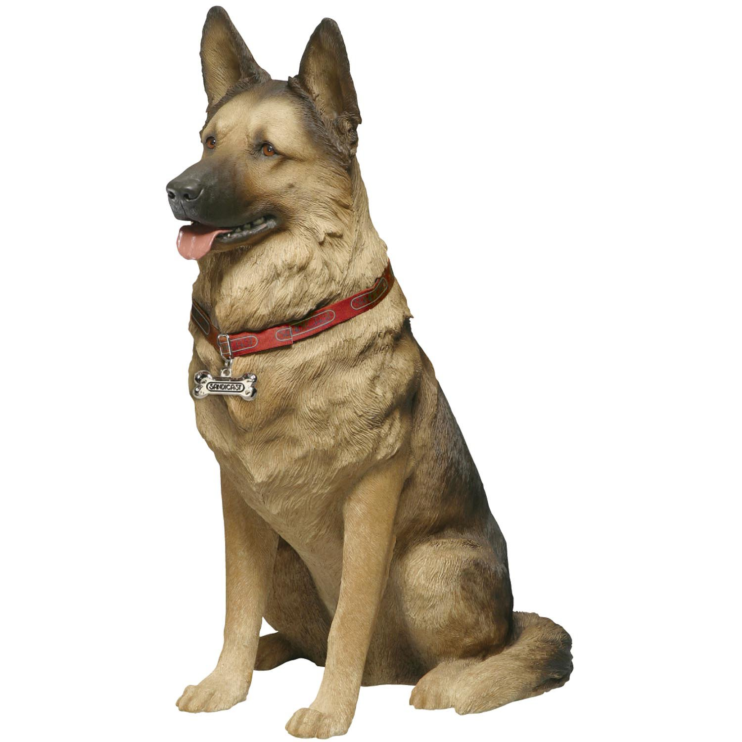 Sandicast German Shepherd Life Size Figurine