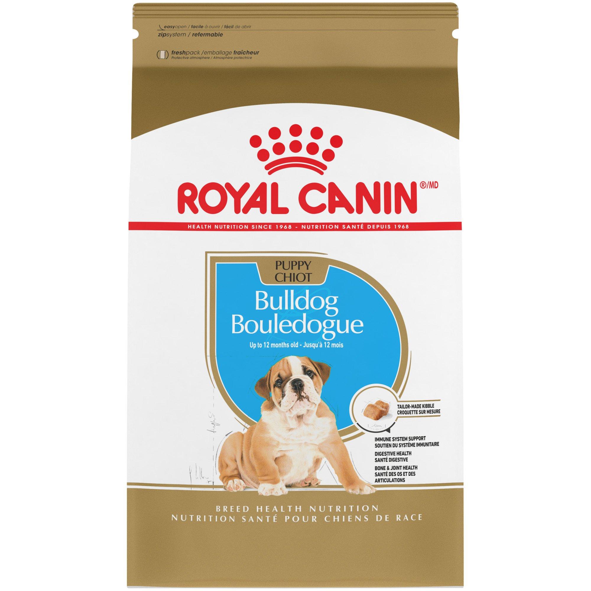 Royal Canin Breed Health Nutrition Bulldog Puppy Food