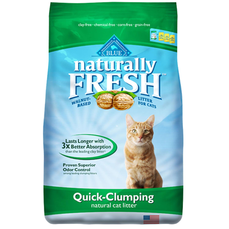 Blue Naturally Fresh Quick Clumping Cat Litter 6 Lbs.