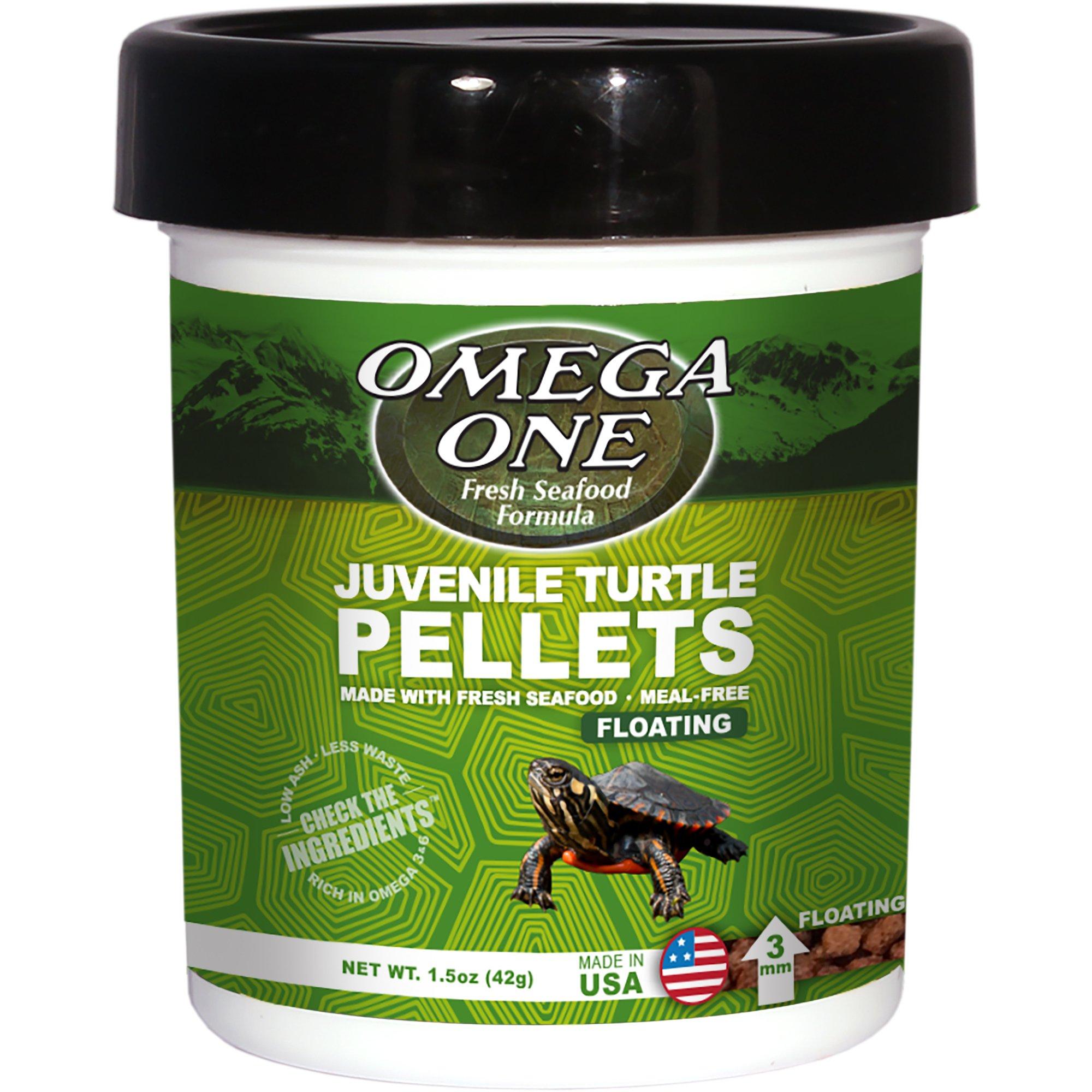 Omega One Natural Protein Formula Juvenile Turtle Pellets