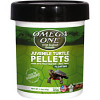 Omega One Natural Protein Formula Juvenile Turtle Pellets