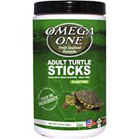 Omega One Natural Protein Formula Adult Turtle Sticks