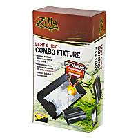 Zilla Light & Heat Combo Fixture