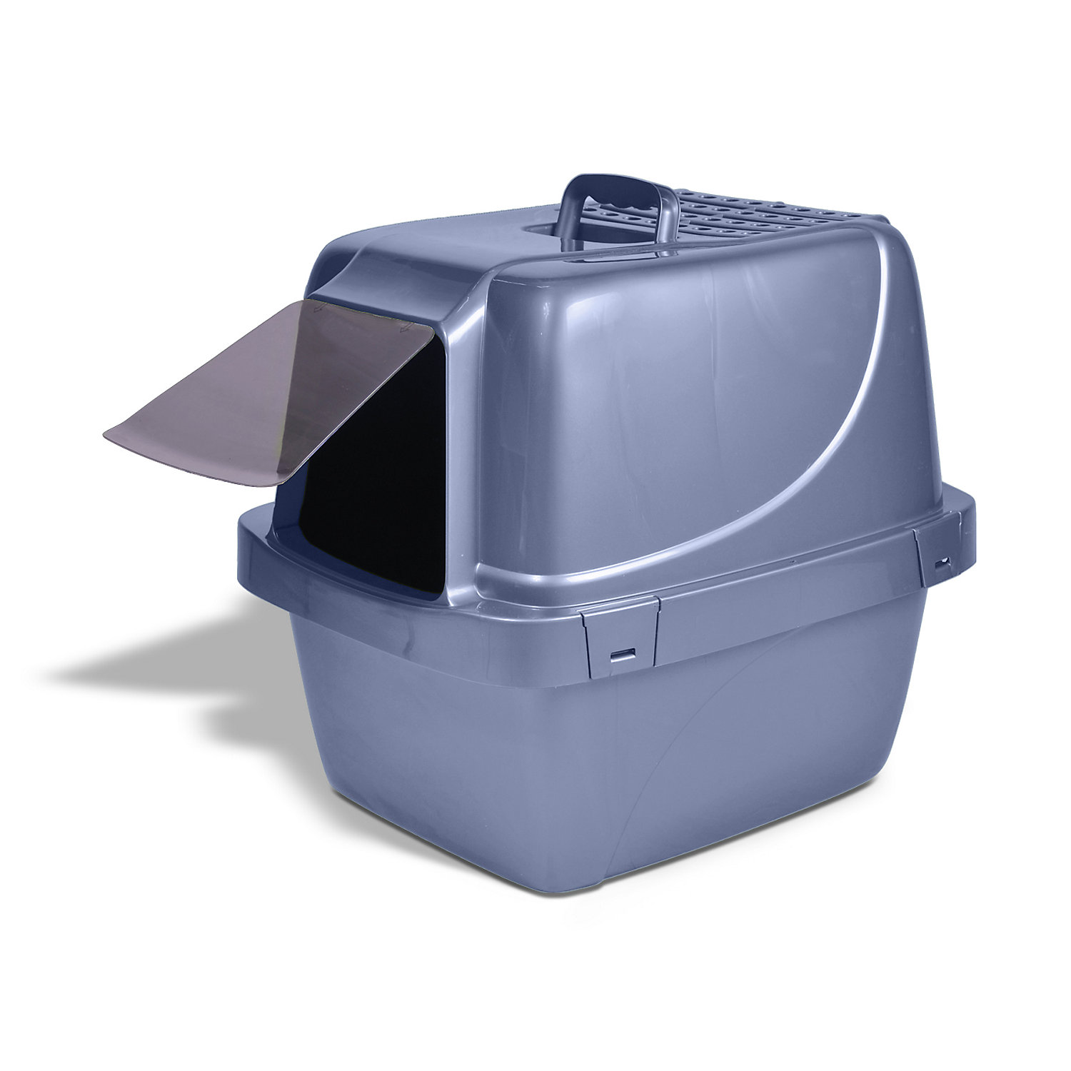 Van Ness Sifting Enclosed Cat Litter Pan 19.75 L X 15.25 W X 18 H Large Assorted