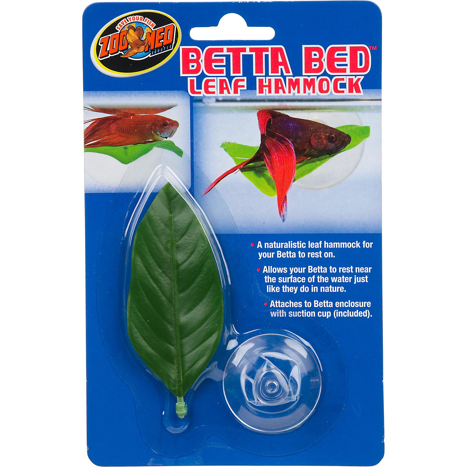 Zoo med betta bed leaf hammock petco for Types of betta fish petco
