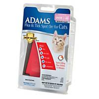 Adams Flea & Tick Spot On for Cats with Smart Shield Applicator