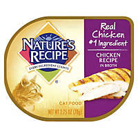 Nature's Recipe Chicken Recipe in Broth Adult Canned Cat Food