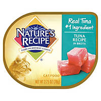 Nature's Recipe Tuna Recipe in Broth Adult Canned Cat Food