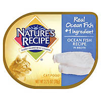 Nature's Recipe Ocean Fish Recipe in Broth Adult Canned Cat Food