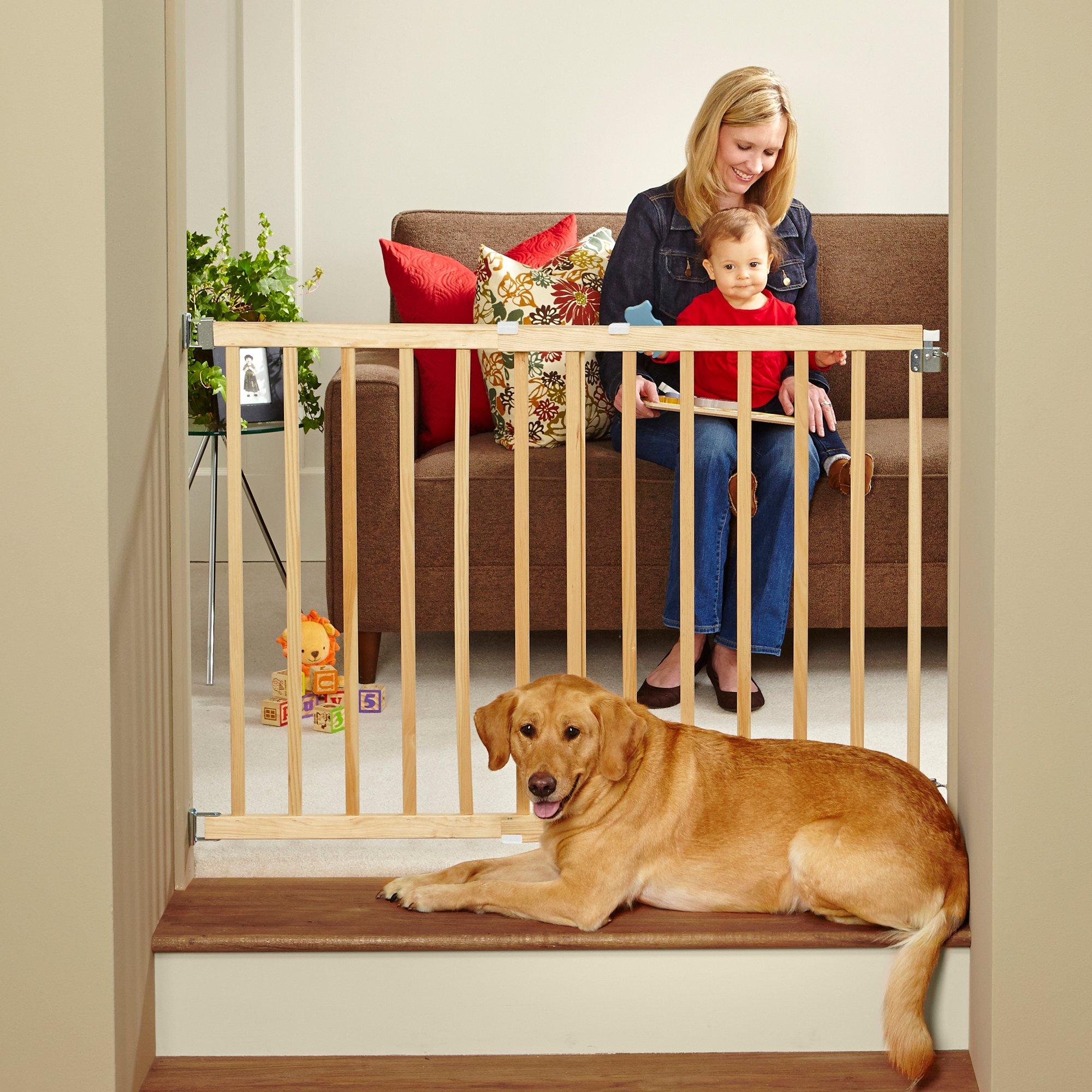 North States Stairway Swing Pet Gate