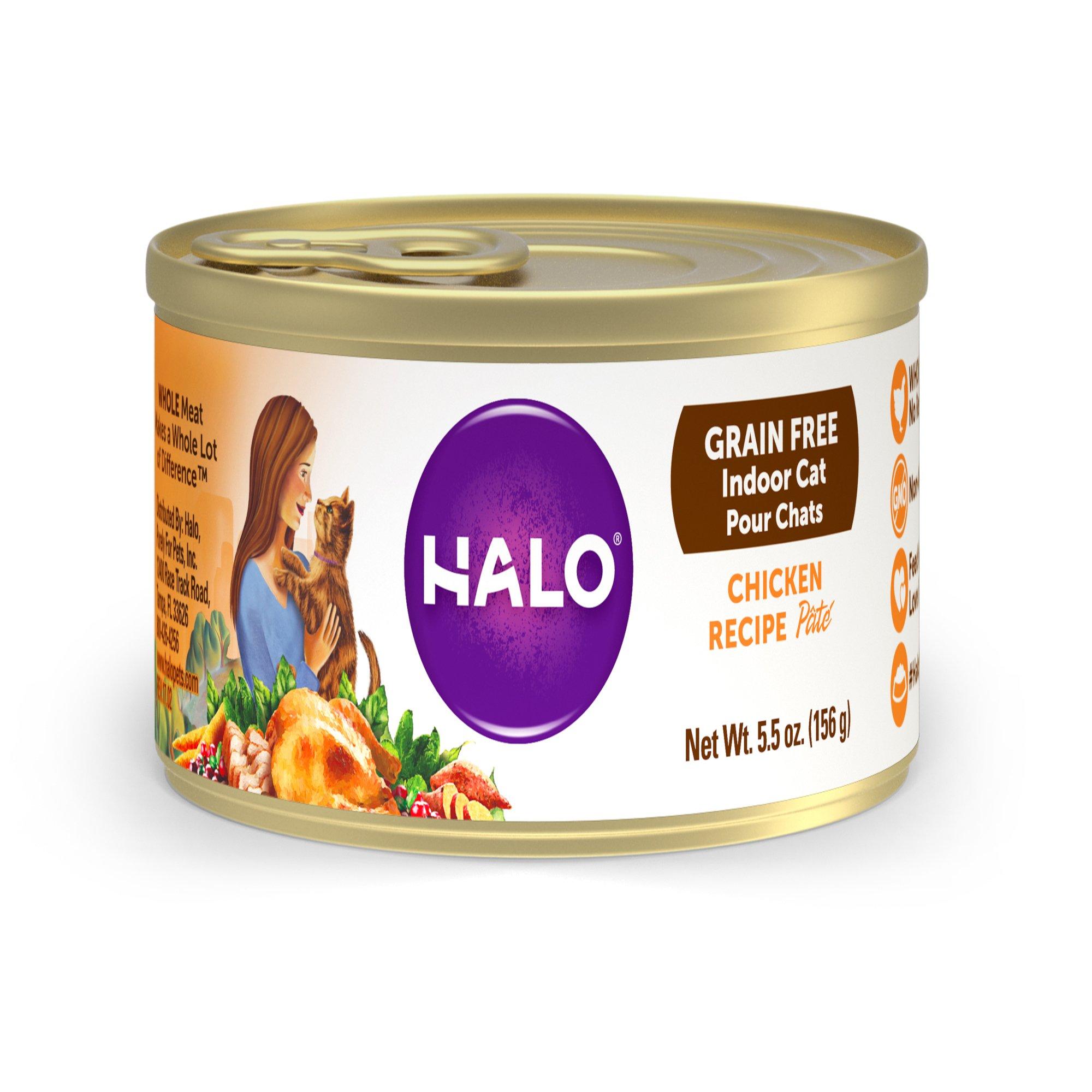 Halo Spot S Pate Cat Food