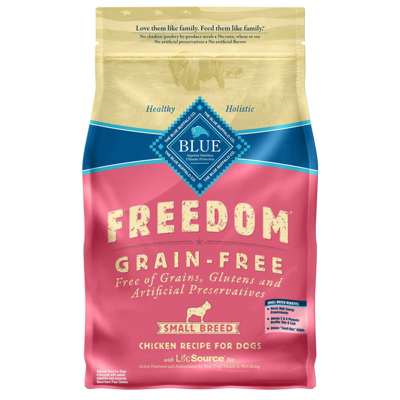 Blue Buffalo Small Breed Freedom Grain Free Chicken Recipe Adult Dog Food
