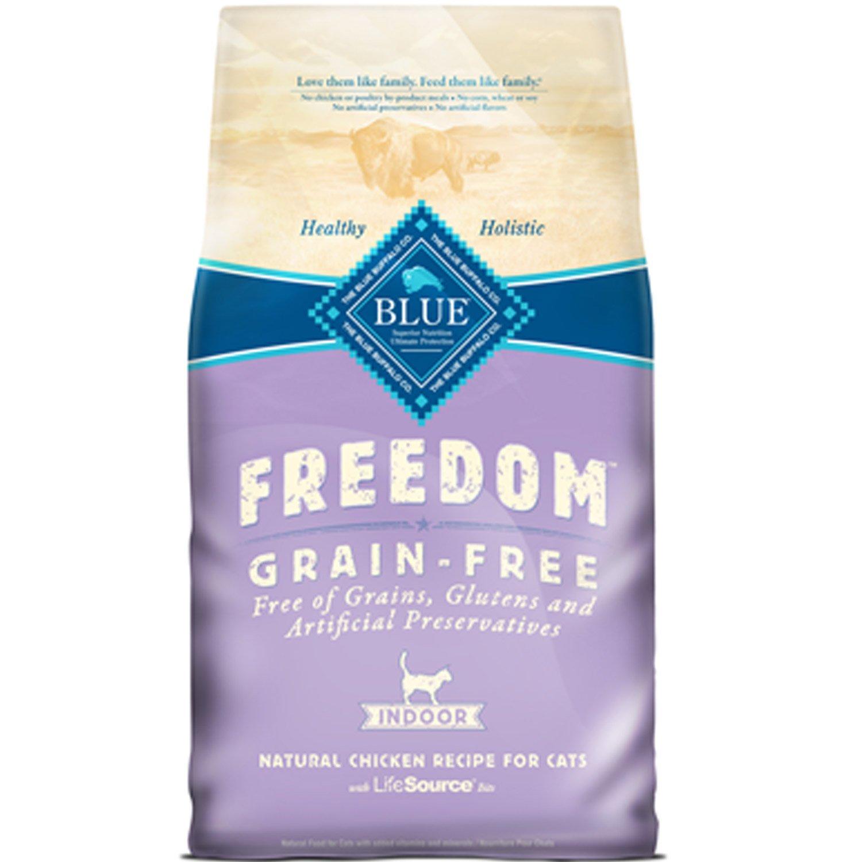 Blue Buffalo Freedom Grain Free Indoor Chicken Recipe Adult Dry Cat Food