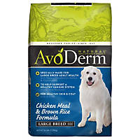 AvoDerm Natural Large Breed Adult Chicken Meal & Brown Rice Formula Dry Dog Food