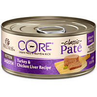 Wellness CORE Chicken, Turkey & Chicken Liver Canned Kitten Food