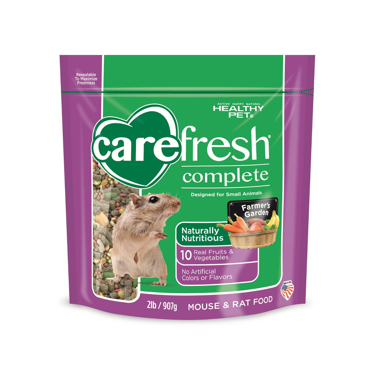Carefresh Complete Menu Rat & Mouse Food