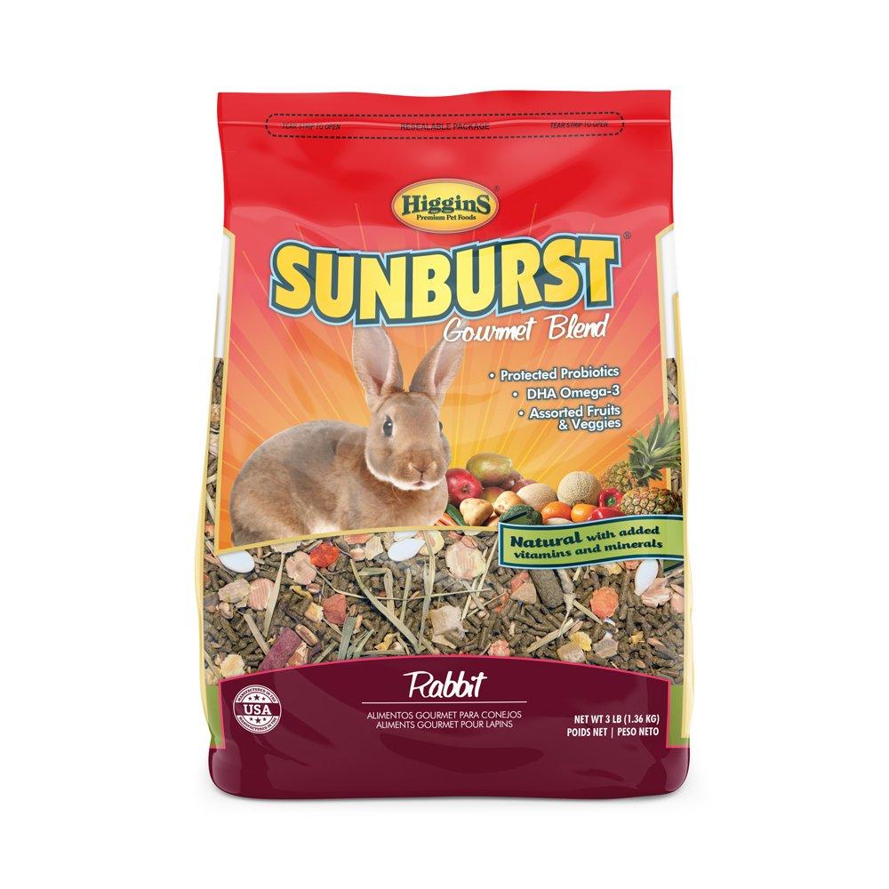 Higgins Sunburst Gourmet Rabbit Food Mix