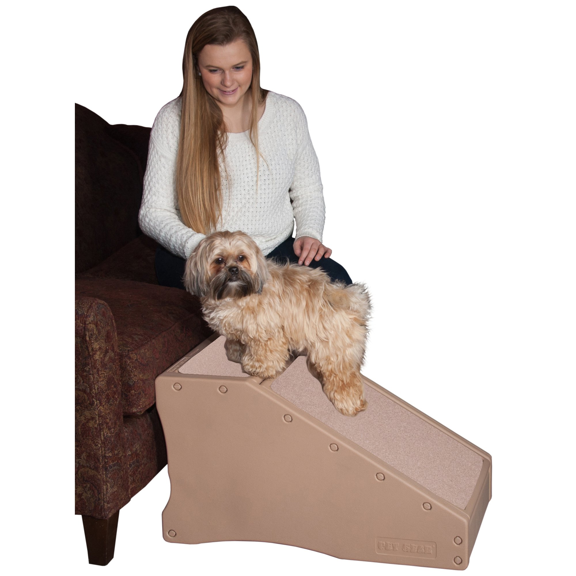 Pet Gear Tan StRamp Pet Ramp