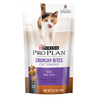 Pro Plan Savory Bites Crunchy Tuna Cat Treats, 2.1 oz.