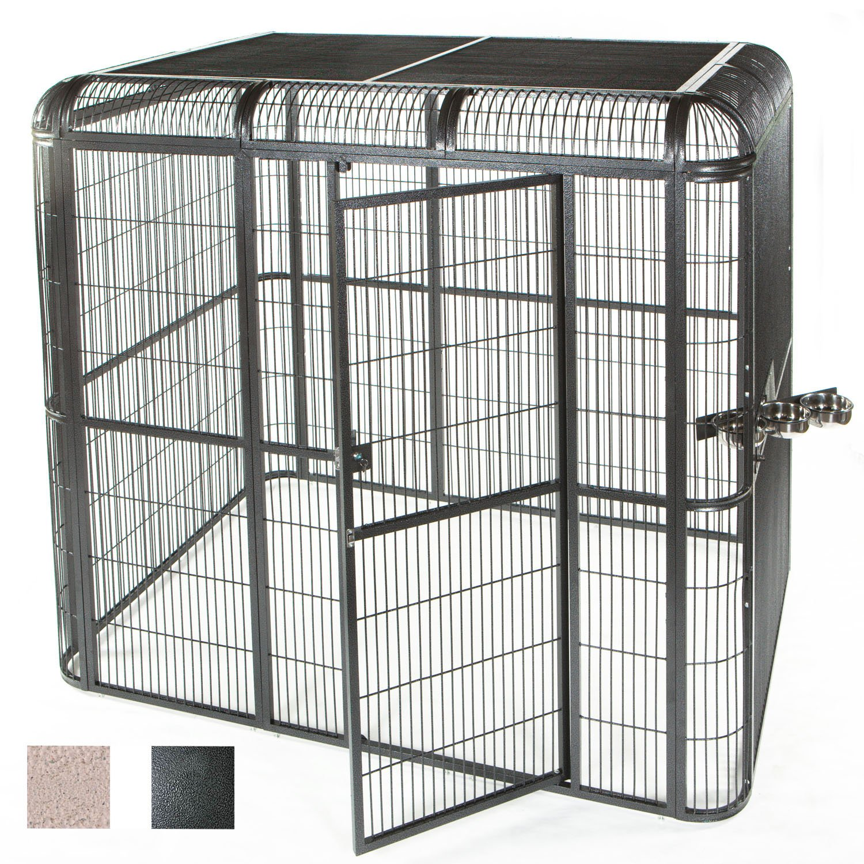 """A&E Cage Company 110"""" X 62"""" Walk In Aviary"""