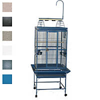 A&E Cage Company 24' X 22' Play Top Bird Cage in Platinum