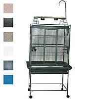 A&E Cage Company 32' X 23' Play Top Bird Cage in White