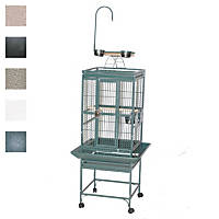 A&E Cage Company 18' X 18' Play Top Bird Cage in White