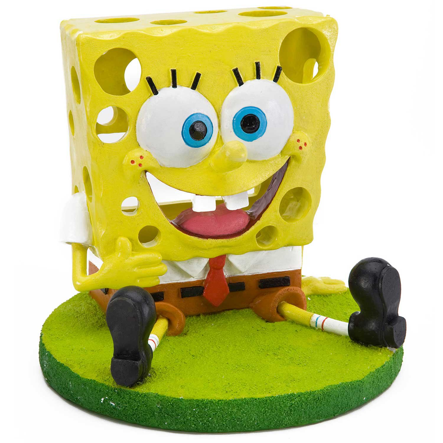 Penn Plax SpongeBob Swim Through Aquarium Ornament