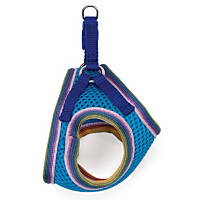 Coastal Pet Li'l Pals Adjustable Mesh Harness in Blue Lagoon