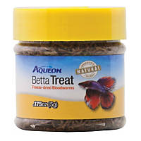Aqueon Betta Treat Freeze Dried Blood Worms