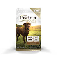 Nature's Variety Instinct Raw Boost Grain-Free Duck & Turkey Meal Dog Food
