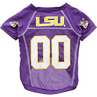 LSU Tigers College Pet Jersey