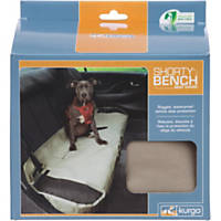 Kurgo Shorty Bench Seat Cover in Khaki