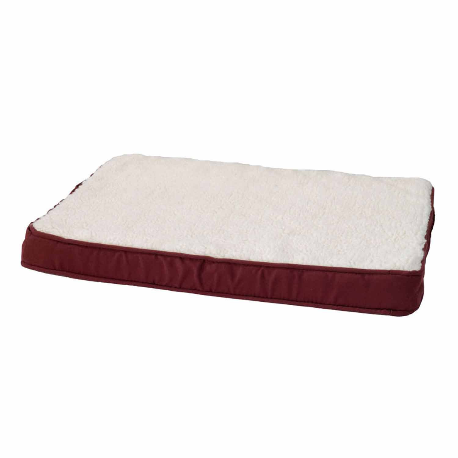 Alphapooch Lounger Orthopedic Garnet Dog Bed
