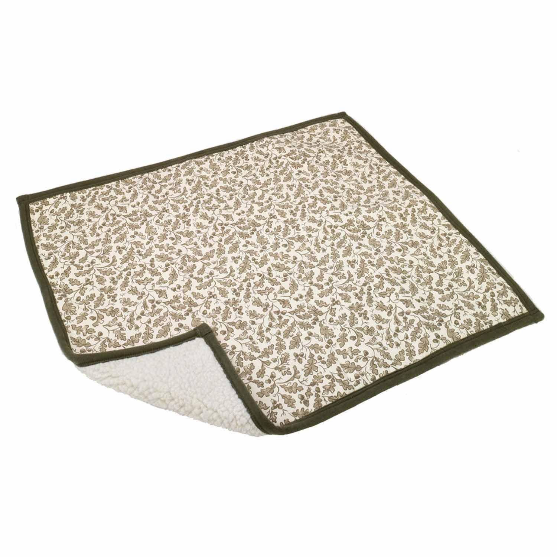 Alphapooch Sleeper Green Leaf Pet Blanket
