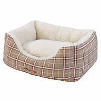 Alphapooch Plaid Cuddler Dog Bed