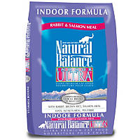 Natural Balance Indoor Ultra Rabbit & Salmon Meal Cat Food