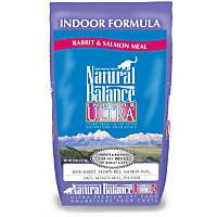Natural Balance Indoor Ultra Rabbit & Salmon Meal Cat Food, 5 lbs.